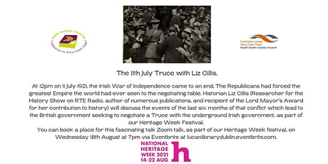 The 11th July Truce with Liz Gillis. tickets