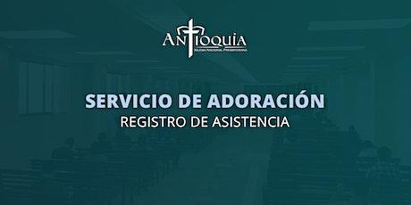 Servicio de adoración 1 de agosto 2021 | INP Antioquía boletos