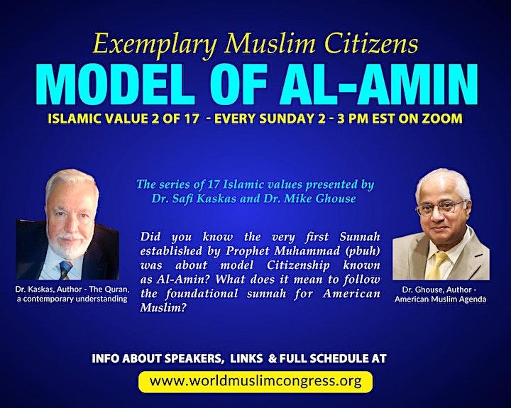 AL-AMIN – The Exemplary Muslim Citizen image