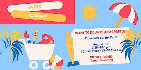 Art Cart #3: Dough Sculpting tickets