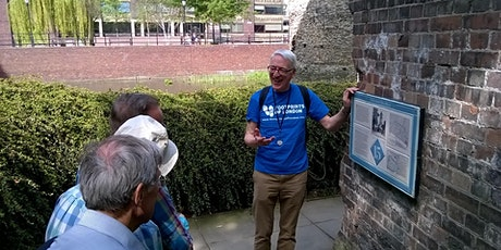 Walking Tour - Tracing the City Wall round Roman and Medieval London tickets