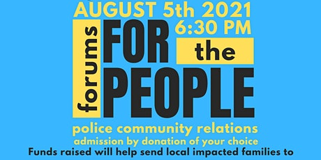 Forums FOR the PEOPLE tickets