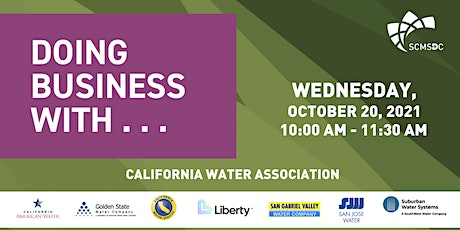 Doing Business With...California Water Association tickets