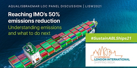 AqualisBraemar LOC LISW21 Event: Panel Discussion & Reception tickets