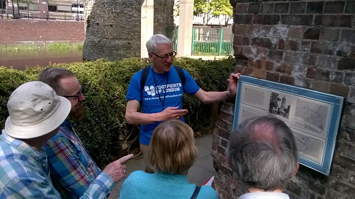 Walking Tour - Tracing the City Wall round Roman and Medieval London image