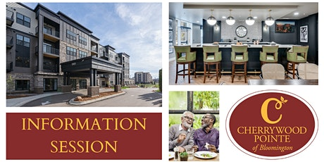 Cherrywood Pointe of Bloomington Information Session 1PM tickets