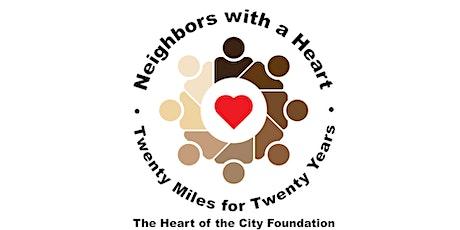 2021 Heart of the City Walk - Twenty Miles for Twenty Years tickets