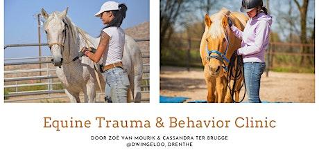 Equine Trauma & Behavior Clinic tickets