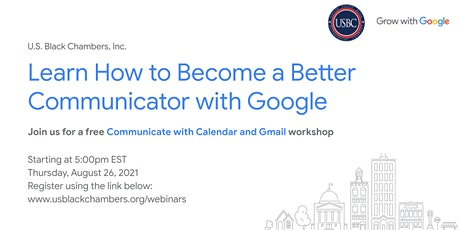 Grow with Google: Communicate with Calendar and Gmail tickets
