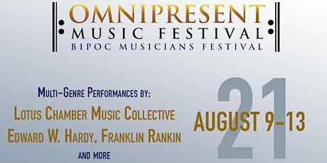 Omnipresent Music Festival / BIPOC Musicians Festival tickets