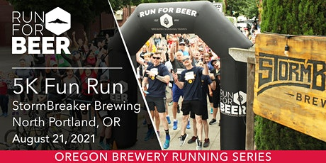 Beer Run - StormBreaker Brewing   2021 OR Brewery Running Series tickets