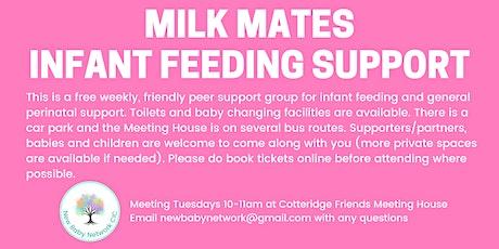 Milk Mates Infant Feeding Support - Cotteridge tickets