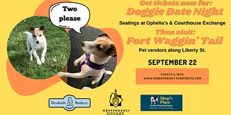 Doggie Date Night on the Independence Square tickets