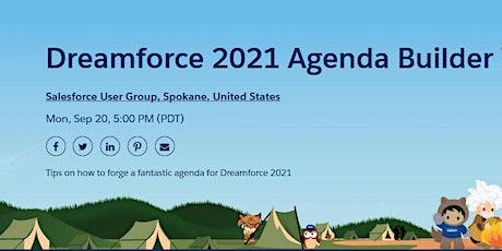 Dreamforce 2021 Agenda Builder Workshop tickets