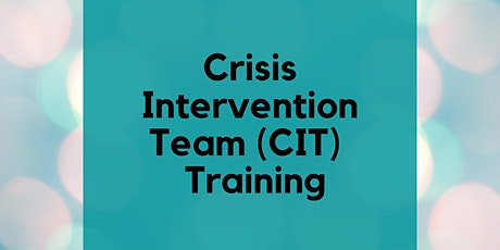 40-Hour CIT Training *FOR LAW ENFORCEMENT ONLY tickets