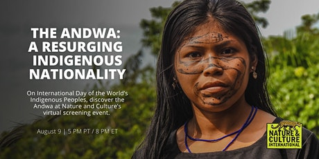 Virtual Screening of the 'The Andwa: A Resurging Indigenous Nationality' tickets