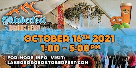 2021 Adirondack Brewery Oktoberfest tickets