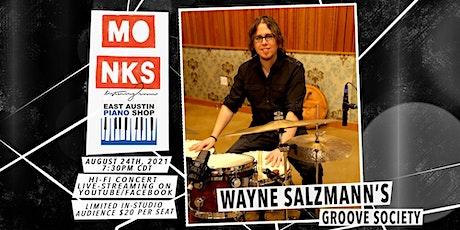 Wayne Salzmann's Groove Society - Livestream Concert w/In-Studio Audience tickets