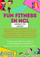 Fun Fitness in NCL - Session 4 Fun Fitness for 8-12 tickets