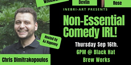 Non-Essential Comedy Show IRL!! Sep 16th tickets
