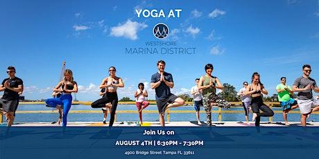 Yoga at Westshore Marina District Promenade tickets