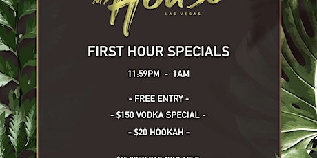 My House at Tempo Ultra Lounge Discounted Guestlist - 8/05/2021 tickets