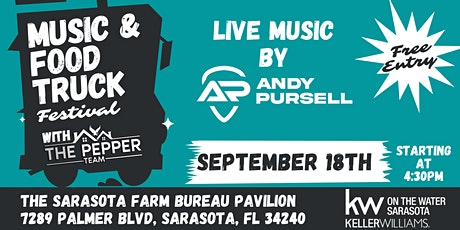 Music and Food Truck Festival with The Pepper Team tickets