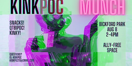 The FIRST KinkPOC Munch! tickets