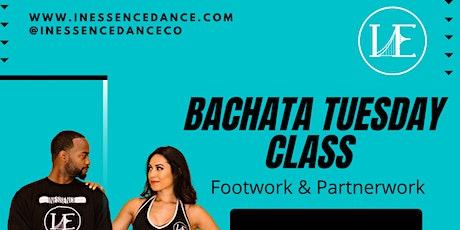 Bachata Tuesday Class AUGUST tickets
