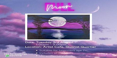 Full Moon Painting Workshop tickets