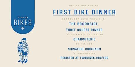 First Bike Dinner tickets