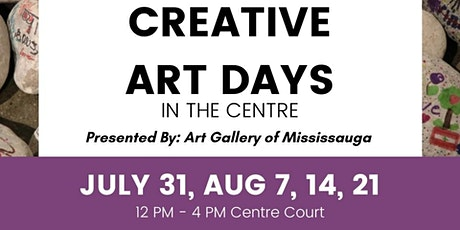 Creative Arts Days in the Centre tickets