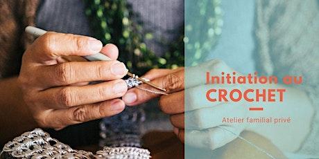 Atelier d'initiation familial au crochet billets