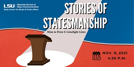 Stories of Statesmanship: Nine to Fives and Limelight Lives tickets