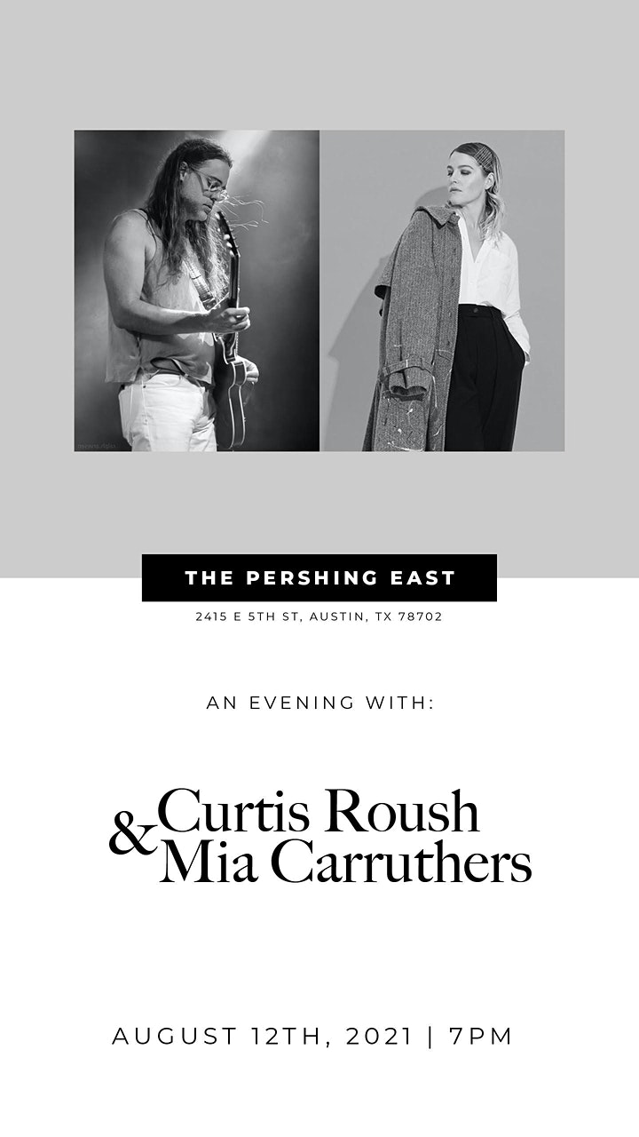 Pershing Presents    Curtis Roush & Mia Carruthers image