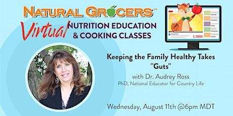 """Keeping the Family Healthy for Back to School Takes """"Guts"""" tickets"""