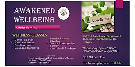 Wellness Classes tickets