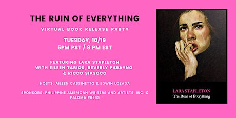 The Ruin of Everything Virtual Book Launch Party tickets