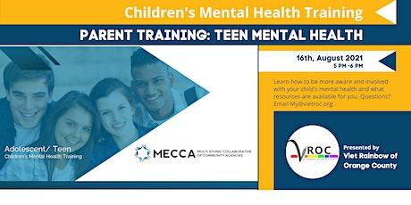 Adolescent/Teen Mental Health Presentation tickets