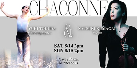 Chaconne - Live Dance and Music Performance tickets
