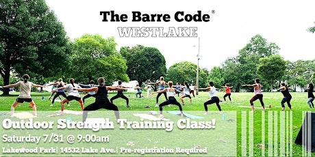 Outdoor Strength Training Class -- First Class FREE! tickets