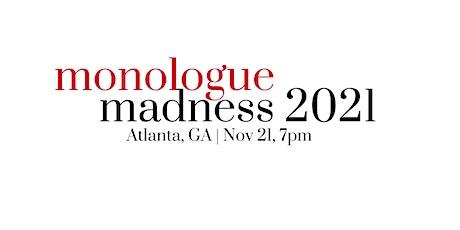 Monologue Madness Atlanta | 2021 tickets