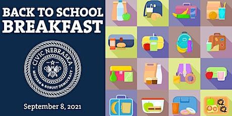 Back to School Breakfast Fundraiser tickets