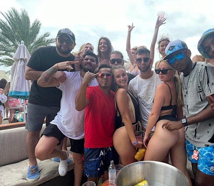 Miami Techno EDM Pool Party + Party Bus image