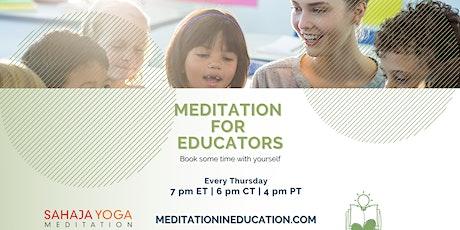 Meditation in Education tickets