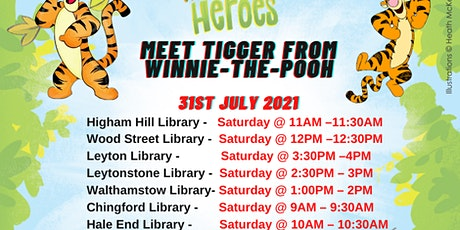 Tigger From Winnie-The-Pooh- WF Summer Reading Challenge Event tickets