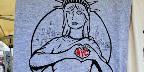We love NYC + 5-Year Anniversary tickets