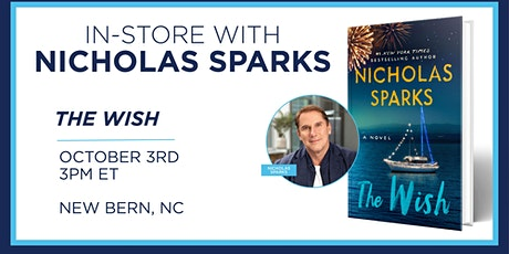 Nicholas Sparks Book Signing tickets