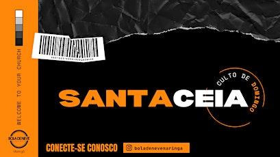 CULTO DOMINGO DE CEIA (01/08) 09h30 ingressos