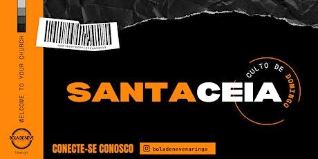 CULTO DOMINGO DE CEIA (01/08) 16h00 ingressos